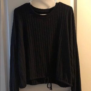 American Eagle Soft & Sexy Plush CROO Top